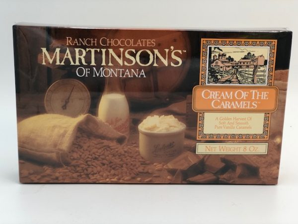 A Golden Harvest of Soft and Smooth Pure Vanilla Caramels.