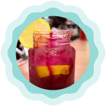 Huckleberry Sunshine Lemonade